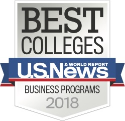 US News and World Report Best Business School Badge