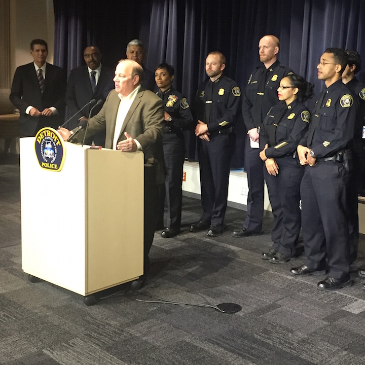 Detroit Police Department Leadership Academy launched by Mayor Mike Duggan