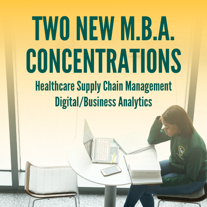 The Ilitch School has created two new M.B.A. concentrations in digital/business analytics and healthcare supply chain management, beginning this fall (pending final approval).