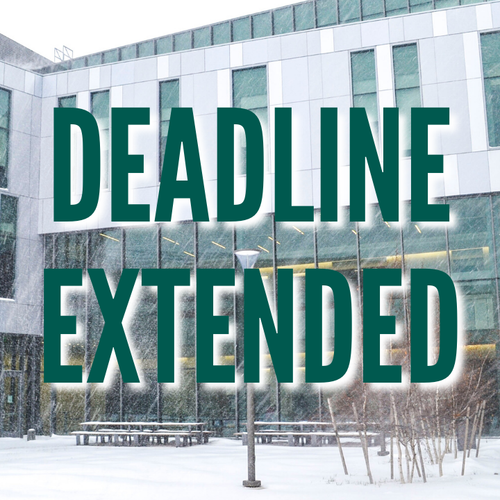 The Ilitch Business graduate school application deadline for winter 2021 admission has been extended to December 31, 2020.