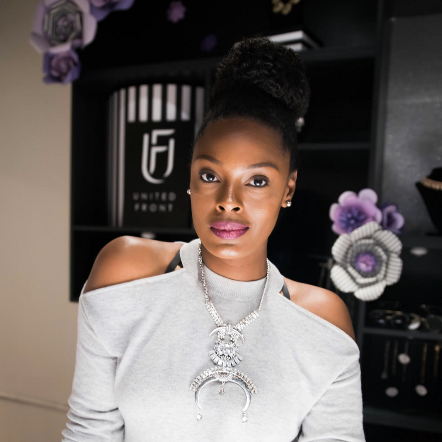 Jordette Singleton '05 runs her own boutique, UnitedFront, as part of the North End Collective in Midtown.